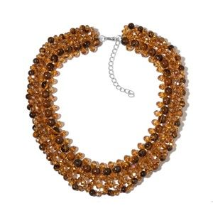 Jewelry - African Tigers Eye Smoky Quartz Choker Necklace